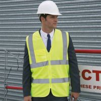 Core safety zip tabard
