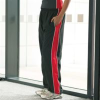Womens piped track pant