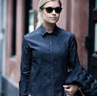 Womens Torrance denim shirt