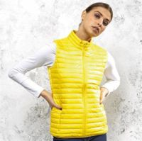Womens tribe fineline padded gilet