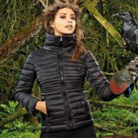 Womens contour quilted jacket