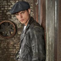 Melton wool baker boy cap