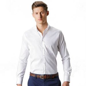 Stretch Oxford shirt long-sleeved (slim fit
