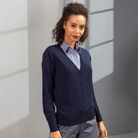 Womens essential acrylic cardigan