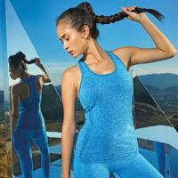 Womens TriDri seamless 3D fit multi-sport sculpt vest