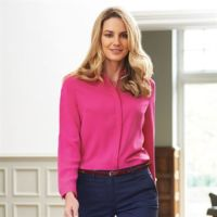 Womens Firenze long sleeve blouse