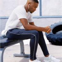 Gamegear piped slim fit track pant