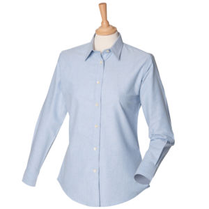 Womens classic long sleeved Oxford shirt