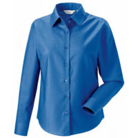 Womens long sleeve Easycare Oxford shirt