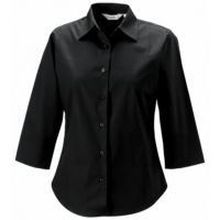 Womens  sleeve easycare fitted shirt
