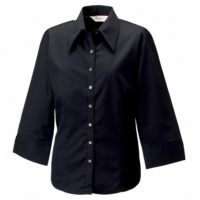 Womens  sleeve Tencel fitted shirt