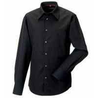 Long sleeveTencel fitted shirt