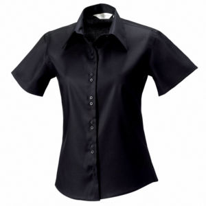Womens short sleeve ultimate non-iron shirt