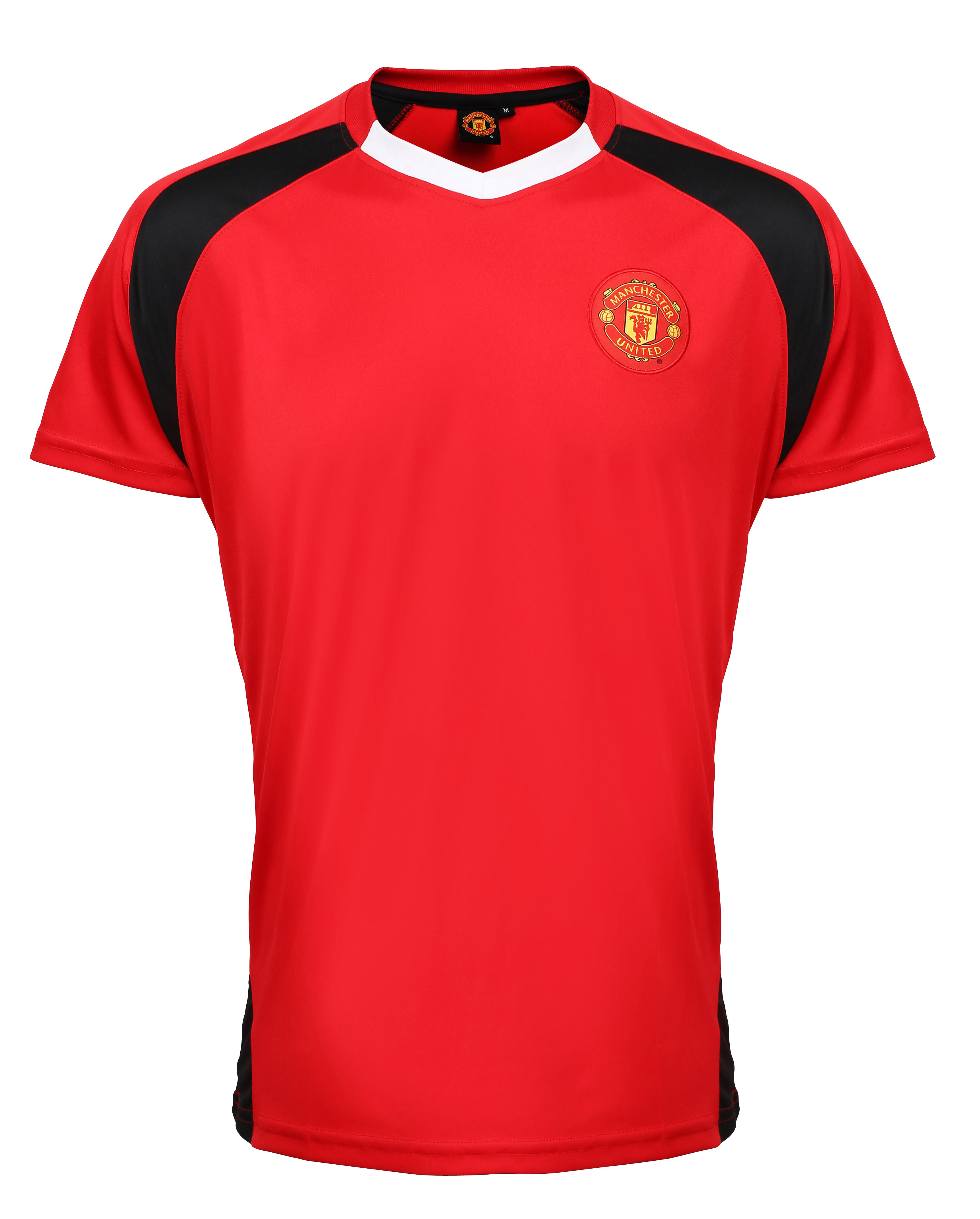 Manchester united fc adults t shirt d zyne for Name brand golf shirts direct