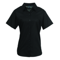 Womens signature Oxford short sleeve shirt