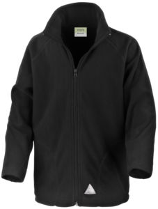 Core junior microfleece jacket