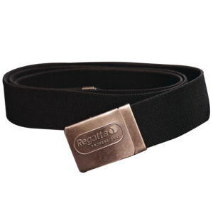 Premium workwear belt with stretch