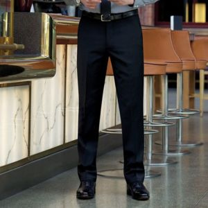 Avalino flat front trousers