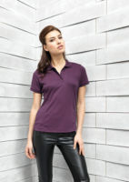 Womens Coolchecker pique polo