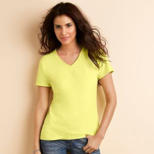 Womens premium cotton v-neck t-shirt