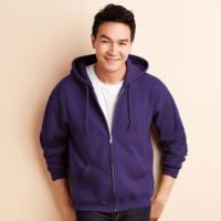 HeavyBlend  full zip hooded sweatshirt