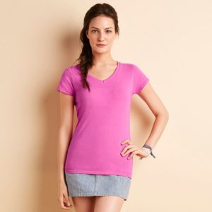 Softstyle womens v-neck t-shirt
