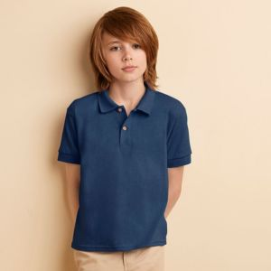 Kids DryBlend jersey knit polo