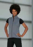 Womens smart softshell gilet