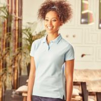 Womens classic poly/cotton polo