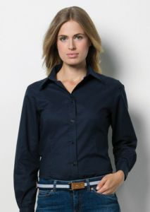 Womens workplace Oxford blouse long sleeved