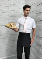 3 open pocket waist apron
