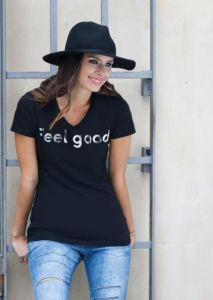 Feel good womens stretch V