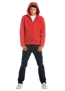 Hooded full zip /men