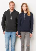 Unisex poly/cotton fleece pullover hoodie