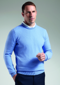 G.Morar lambswool crew neck sweater (MKL5902CN-MOR)