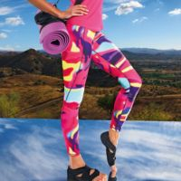 Womens TriDri performance Aurora leggings