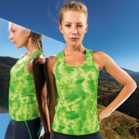 Womens TriDri Hexoflage performance vest