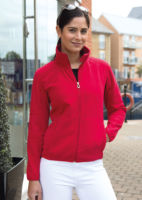 Womens Osaka combed pile softshell jacket