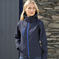 Womens Core TX performance hooded softshell jacket