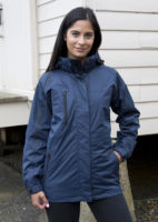 Womens 3-in-1 journey jacket with softshell inner