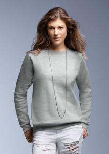 Anvil womens set-in-sweatshirt