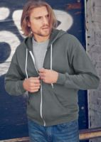 Anvil full zip hooded sweatshirt