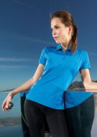 Womens panelled TriDri polo